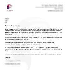 Doctors Note For Dog Esa Letter From Doctor Doctors Note For Emotional Support Dog Keni