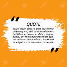 vector quote blank template artistic quote bubble empty template vector quote blank template artistic quote bubble empty template grunge brush strokes