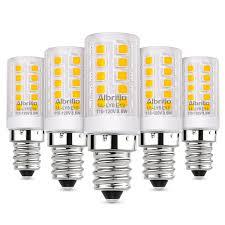 albrillo e12 bulb candelabra base 5w incandescent light 40 watt equivalent non dimmable led bulbs 5 pack albrillo official website all bright