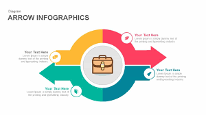 Infographic For Powerpoint Infographics Arrow Powerpoint Template And Keynote