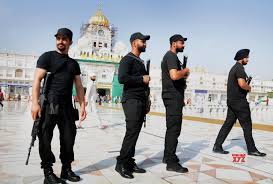 Security Personnel Amritsar 35th Operation Blue Star Anniversary Security