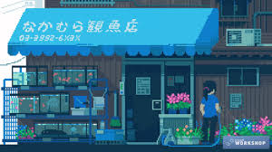 wallpaper engine 8 bit anime collection