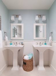 pedestal sink navy blue bathroom design pictures remodel decor and ideas page