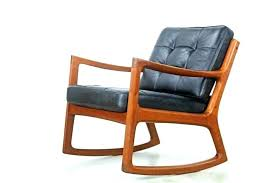 Rocking Chair Furniture Oversized Rocking Chair Casual Black Rocking