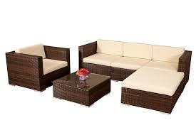Outdoor Wicker Lounge Furniture