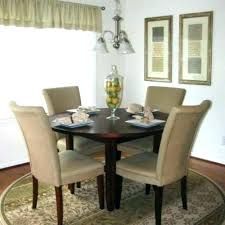 half circle kitchen e dining outstanding rugs round jute rug under farmhouse table best area awesome