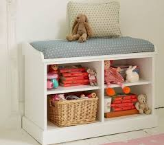 storage bench with shelves. Double Storage Bench With Open Shelves On The Dormy House