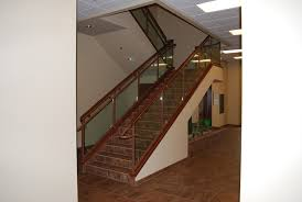 glass panel handrail