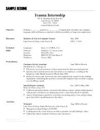 Basic Skills Resume Examples Computer Skills Resume Examples ...