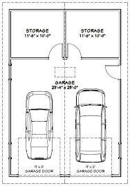 24x36 2 car garage 24x36g1 864 sq ft excellent floor plans garage equipment ideas garage garage doors and garage plans