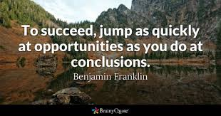 Jumping To Conclusions Quotes Cool Conclusions Quotes BrainyQuote