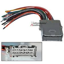 saturn car stereo cd player wiring harness wire aftermarket radio What Is A Wiring Harness For Car Stereos image is loading saturn car stereo cd player wiring harness wire what is a wiring harness car audio