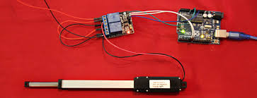 how to control a micro linear actuator using relays and morai motion micro linear actuator relay 4731 2