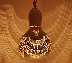 Gourd Lights Hanging Gourd Lamp Iii Day By Calabarte Dhkl Surripuinet