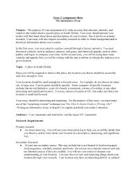 ideas collection example informative essay for sample com bunch ideas of example informative essay for proposal