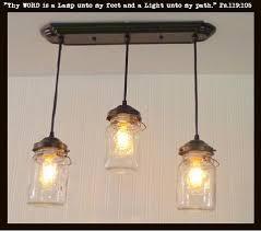 jar lighting. mason jar 3light chandelier rectangular vintage quarts light fixture the lighting n