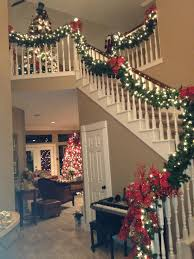 Wrap it Design  Decorating Banisters For ChristmasChristmas ...