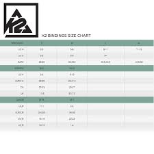 K2 Womens Snowboard Size Chart K2 Snowboard Size Chart 2016 Best Picture Of Chart