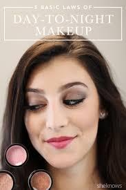 pin day to night makeup