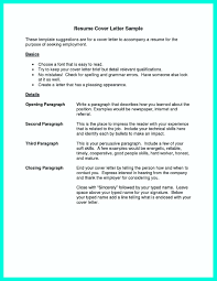 Proper Resume Cover Letter Format How To Write A Proper Resume And