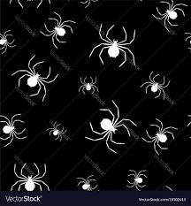 Spider Web Pattern Classy Seamless Pattern With Spider Web On Halloween Vector Image