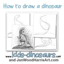 how to draw a dinosaur jpg