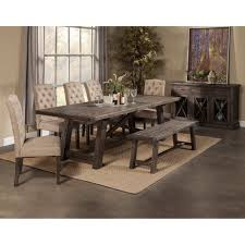 dining room table sets with bench. 79 Most Prime Bench Table Set Grey Kitchen Chairs Modern Dining Room With And Sets