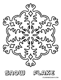 Printable Snowflake Coloring Pages Coloring Pages