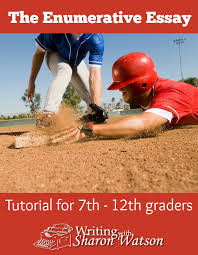the enumerative essay parking spaces and baseball lead your student through the enumerative essay maze with these examples and writing tips