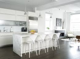 modern white kitchens. Wonderful Kitchens View In Gallery Modern White Kitchen 9 On Kitchens