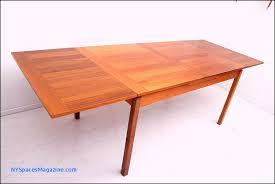 danish dining table extendable mid century skov teak dining table