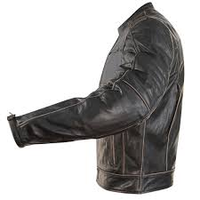 xelement xs151300 boone charcoal men s dark brown leather jacket leatherup com