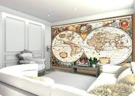 old world wall decor wall decor map of the world living room globe of world map