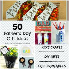 50 fathers day gift ideas kid s crafts diy gifts and free printables