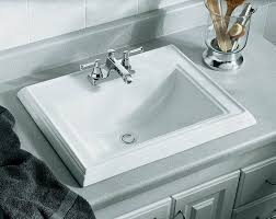 bold design ideas kohler drop in bathroom sink remodel faucet k 2241 4 47 almond nrc sinks hexagon