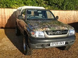 Toyota hilux ex 4x4 mwb 2.5 diesel manual 2 door truck suv camo ...