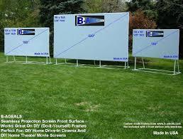 posh outdoor projector and screen outdoor projector screen pool projection screen
