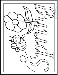 Small Picture Spring flowers Coloring Page 28 Customizable Printables