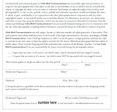 Photo And Video Release Form Template Lovely Free Wedding