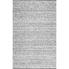 nuloom natosha chevron striped silver 5 ft x 8 ft indoor outdoor area