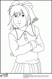 Small Picture Junie B Jones Coloring Page Printable Coloring Home