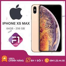 Mã SKAMPUSH9 giảm 10% đơn 200K] Điện thoại Apple IPHONE XS Max 64/256/512  bản Lock zin all