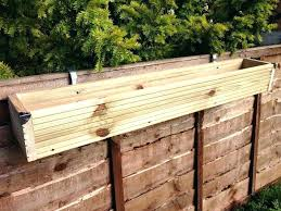 long wooden planters over the fence panel hanging balcony wooden planter window box decking trough long long wooden