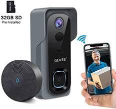 <b>Video Doorbell Camera Wireless WiFi</b> Smart <b>Doorbell Camera</b> ...