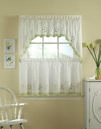 Kitchen Curtains For How To Make Curtains For Kitchen Windows Free Image