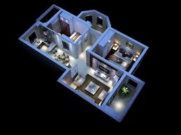 Modern House Interior D Model MAX - 3d house interior