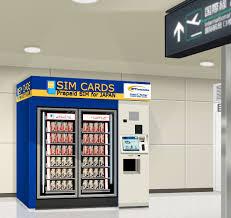 Sim Card Vending Machine Haneda Custom SIM Card Sales Of Narita Airport Terminal48 JELCY