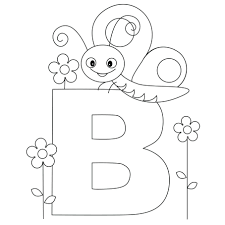 It doesn't matter if they. Alphabet Coloring Book And Posters Pages Free Printable Letter B Drawing Dog Abc Sheets Blocks Golfrealestateonline
