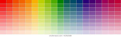 Shades Of Color Blue Chart Bilder Stockfoton Och Vektorer Med Color Shade Chart