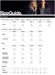 Superdry Size Chart Us Superdry Size Chart